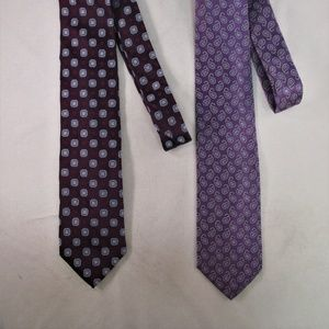 Brooks Bros. Men's Silk Ties Lot of (2)